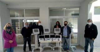 El Hospital de Junín recibió cuatro respiradores enviados por el gobernador Kicillof