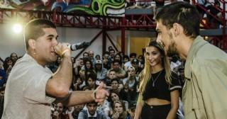 Competencia de Hip Hop en la Estación Cultural La Minga