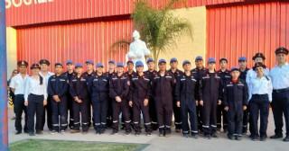 Se conmemoró el Día Nacional del cadete de Bomberos Voluntarios