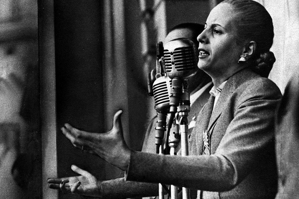 Este martes 7 de mayo a las 19.30 horas se descubrirá una placa en homenaje a Eva Duarte de Perón en la esquina de Eva Perón e Iribarne.
