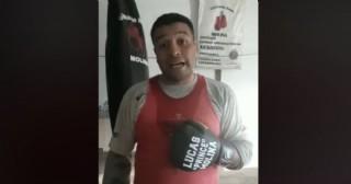 Desde el boxeo también se invita a entrenar en casa
