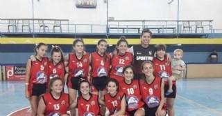 La U14 de Sportivo, campeona anual