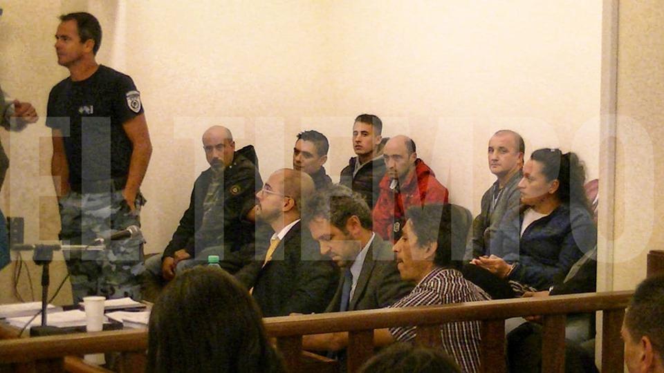 Las sustanció el Tribunal en lo Criminal Nº 1 con la presidencia del juez  Danilo Cuestas, oriundo de Rojas.