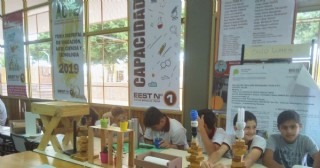 "Contundente muestra institucional de la Escuela Técnica N° 1 ""Don Luis Bussalleu"""