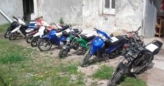 Se intensifican procedimientos de control y secuestran 11 motos