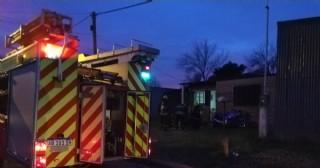 Los bomberos lograron controlar principio de incendio en vivienda de Barrio Progreso