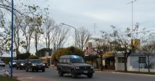 En Rojas hubo una caravana contra el Gobierno nacional