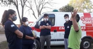 Los Bomberos Voluntarios de Carabelas cumplieron con una jornada de capacitación