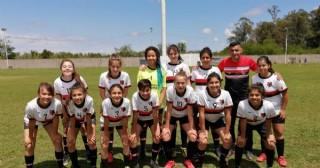Las chicas de Jorge Newbery jugaron en Chacabuco