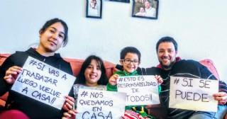 Pandemia: Testimonio de rojenses en España