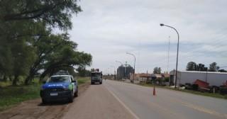 Violento choque en la Ruta 188 y calle Mulally