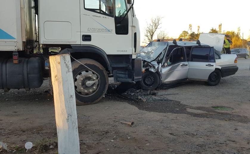 Aproximadamente a las 17:30 de este jueves 23 de mayo se produjo un accidente de tránsito en Ruta 8 en su intersección con ruta 191, a la altura de la estación de servicio Puma.