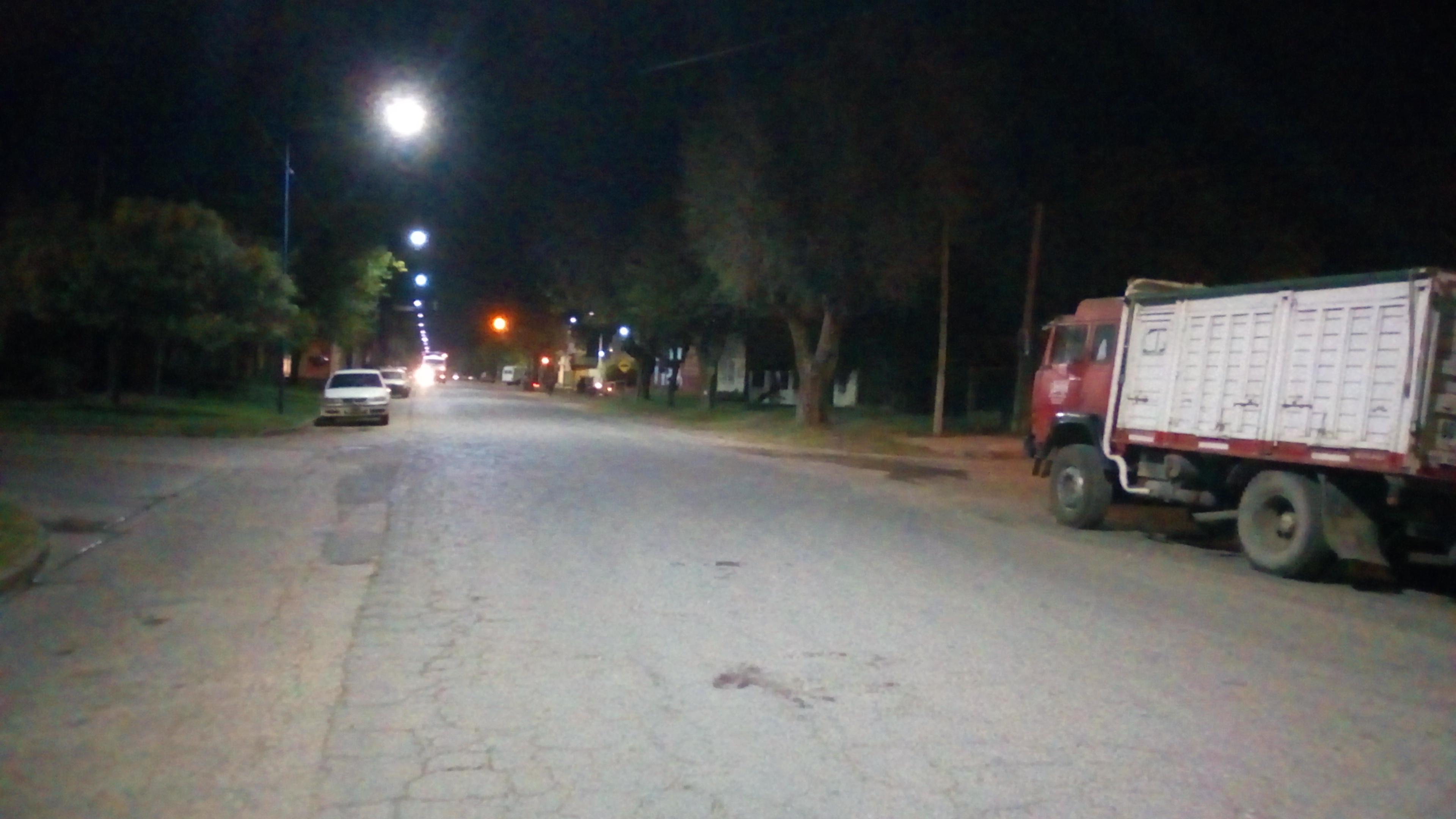 El hecho donde resultó lesionado sucedió el pasado lunes 13 de mayo por la tarde en Bulevar Larrea y Lavalle.
