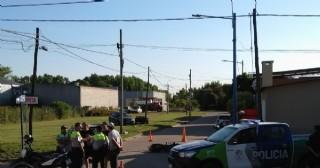 Violento choque en la esquina de Necochea y General Villegas