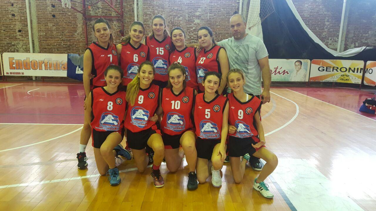 Por la sexta fecha del torneo organizado por la Asociación Juninense de Básquetbol, los conjuntos femeninos pertenecientes a las divisiones inferiores de Sportivo de Rojas se midieron ante sus pares de Sarmiento y San Martin.