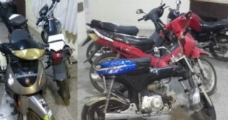 Nuevos secuestros de motocicletas
