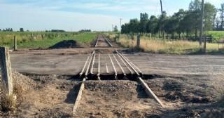 Finalizaron las reparaciones y rehabilitan el paso a nivel de la Ruta 31