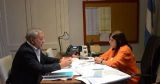 Claudio Rossi se reunió con la ministra de Gobierno bonaerense