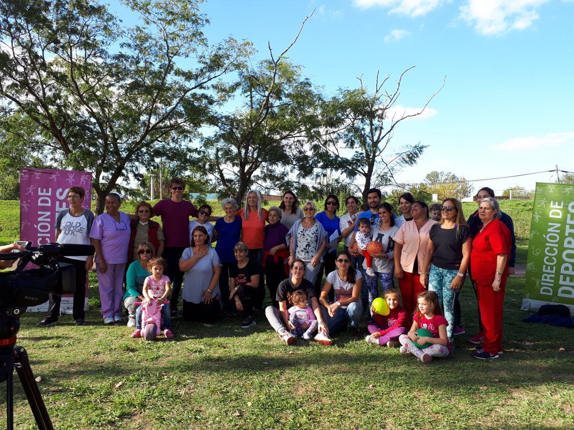 """Días atrás se realizó una charla en el """"Día de lucha mundial contra el Sedentarismo"""" en el Centro Cultural """"Ernesto Sabato"""", con el objetivo de generar actividades para promover la salud."""