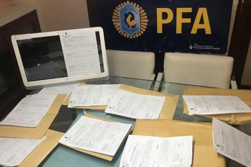 La Policía Federal -Delegación Junín Delitos Federales y Complejos- desbarató este jueves una red que traficaba imágenes de pornografía infantil a través de Internet.