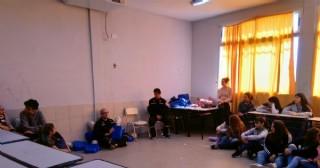 Bomberos brindan capacitación a alumnos de la Secundaria N° 5