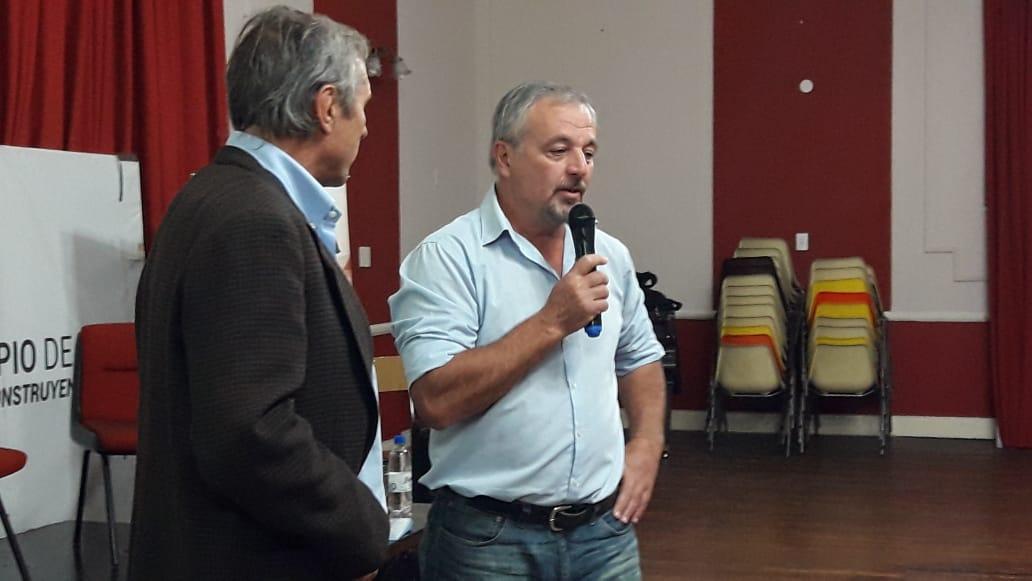La jornada se desarrolló en el Centro Cultural Ernesto Sabato este miércoles 15 de mayo desde las 17 horas.