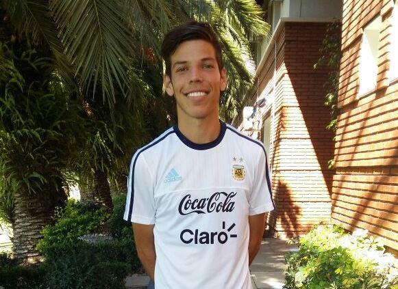 El fútbol de Rojas está de fiesta. Es que el joven Agustín Martegani (de la cantera de Argentino de Rojas) tuvo en la mañana de este martes 17 de abril su primer entrenamiento con la selección argentina sub-20 dirigida por Sebastián Beccacece.