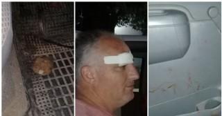 Atacaron a piedrazos a un funcionario municipal de Pergamino en pleno control del cumplimiento de la cuarentena