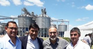 UATRE Rojas presente en el inicio de la cosecha de maíz en Satus Ager