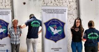 """""""Panes"""" calientes: detienen a un argentino y a una paraguaya que transportaban ocho kilos de marihuana en un auto"""
