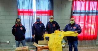 Los Bomberos Voluntarios adquirieron importante equipamiento
