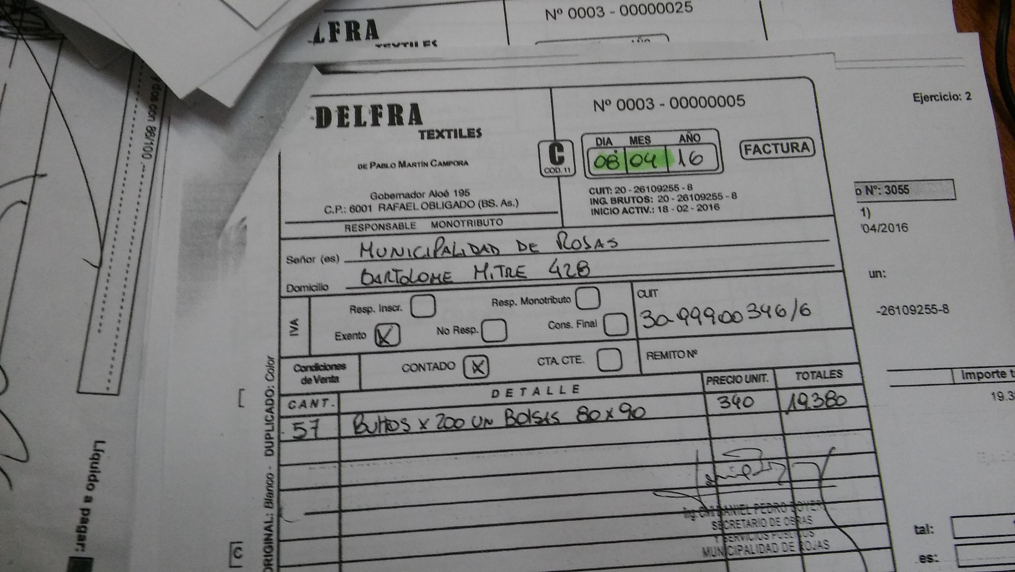 Son hechos, lamentablemente, no palabras. Quedó demostrado con las facturas del señor Pablo Martin Cámpora DNI 26.109.255, quien fue beneficiado por su condición de pareja en la vida de la concejal por el GEN Marylin Pugliese, con la entrega de más de 60 mil pesos mensuales a cambio del voto favorable de la edil a todos los proyectos del Radicalismo-PRO.