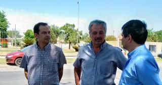 Las autoridades municipales se refirieron a las obras de reasfaltado recientemente ejecutadas