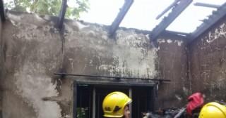 Incendio en Barrio 20 de Octubre