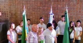 """La Escuela de Educación Técnica N° 1 """"Don Luis Bussalleu"""" celebró su acto de graduación 2019"""