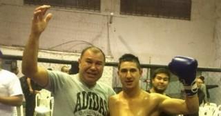 Natalio Molina pelea en Arequito