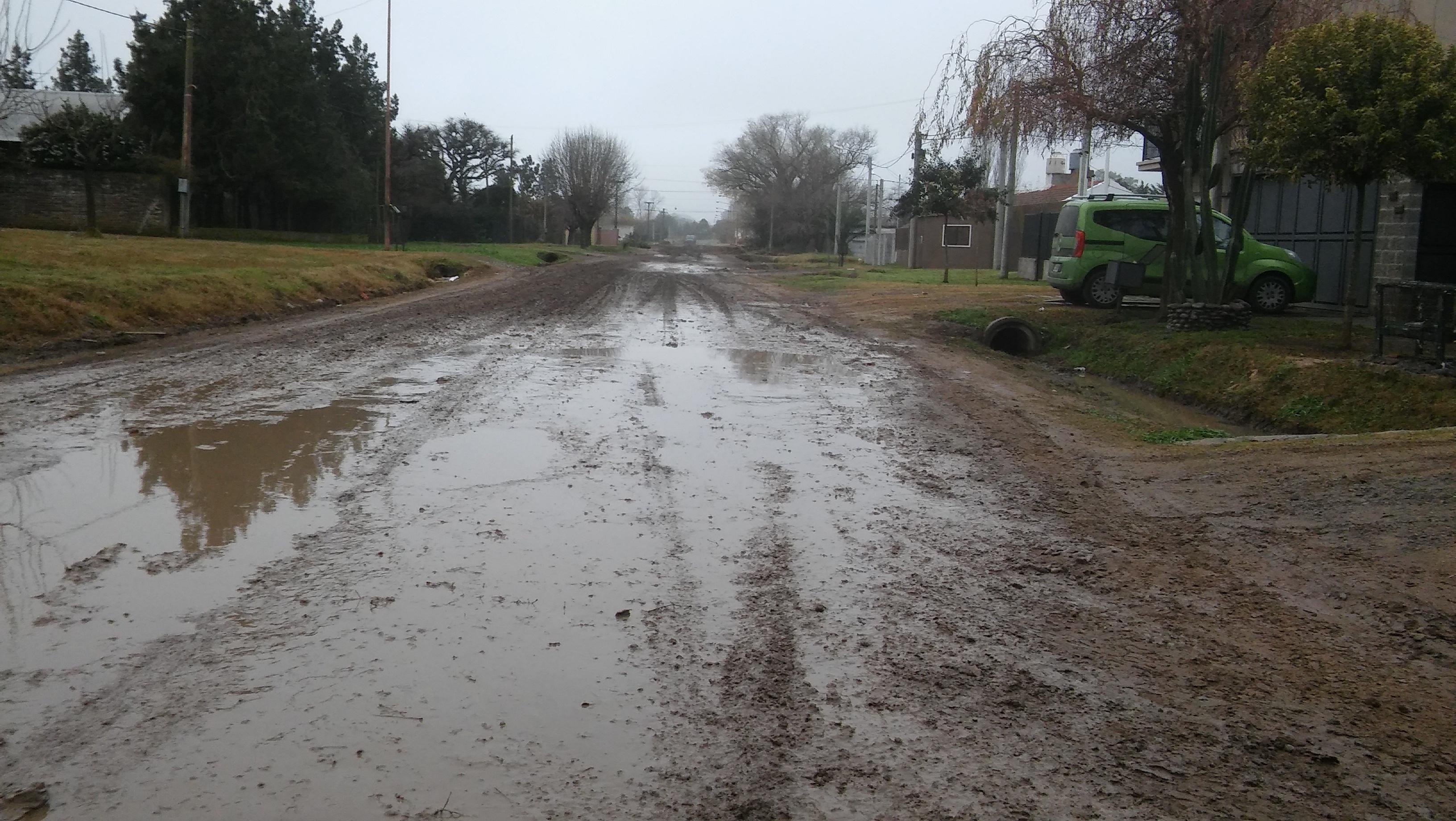 Es particularmente malo el estado de la calle Diego Trillo en el tramo comprendido entre la Avenida Helguera y Polonia.