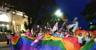 Rojas tuvo su marcha del orgullo LGBTIQ