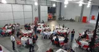 Gran cena de camaradería de los Bomberos Voluntarios de Rojas