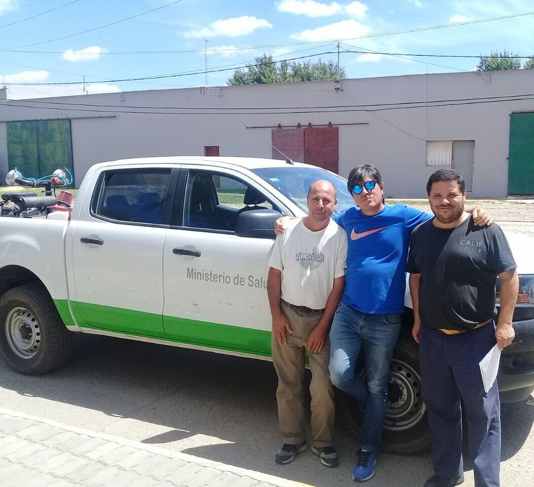 Esta semana estuvieron en Rojas integrantes del Ministerio de Salud de la provincia de Buenos Aires capacitando al personal municipal en la utilización de productos para fumigar.