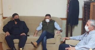 Visitó Rojas el titular de la Superintendencia de Seguridad Interior Norte 2