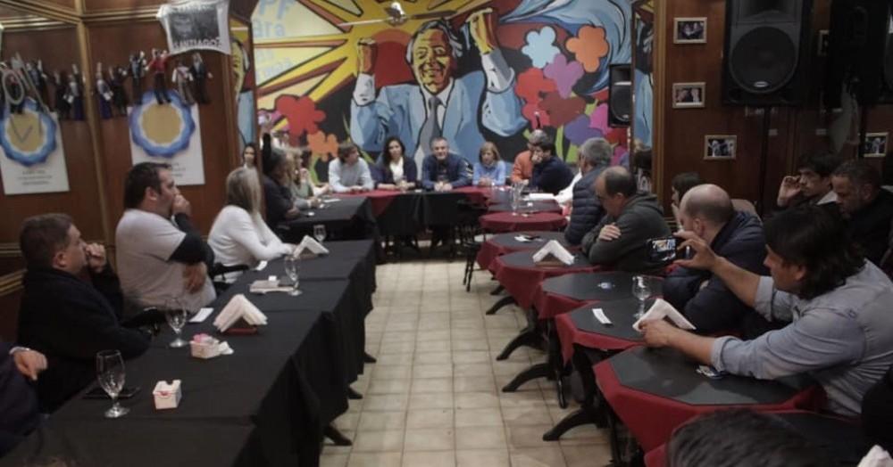 Plenario en la Ciudad de Buenos Aires.