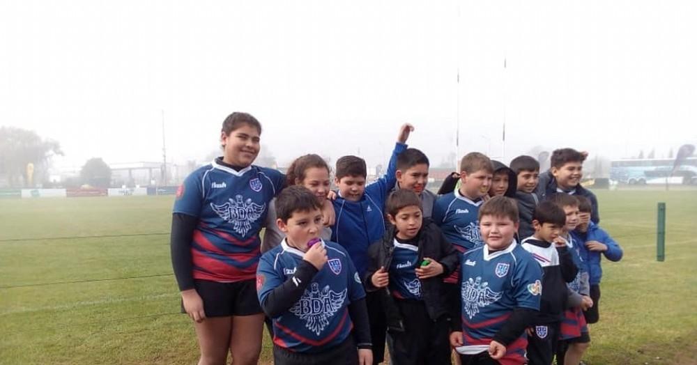 Rugby, sinónimo de amistad y buenos valores.
