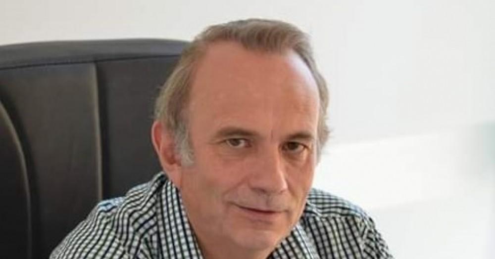 El exintendente, Gustavo Vignali.