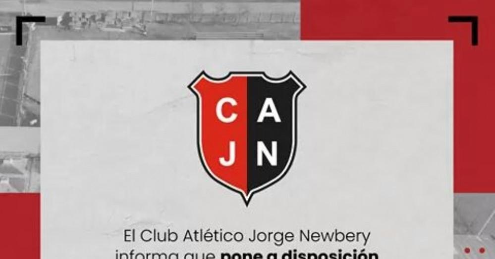 El anuncio del Club.