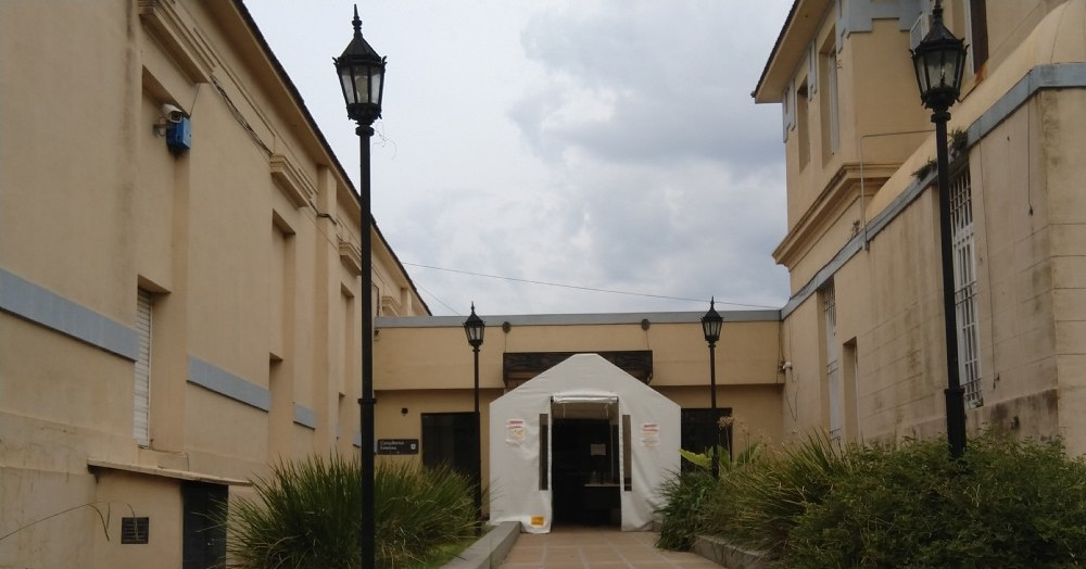 Hospital Unzué.