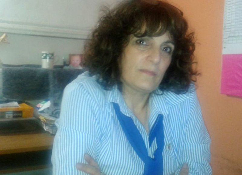 Mónica Cichello, a cargo de la Dirección de Rentas.