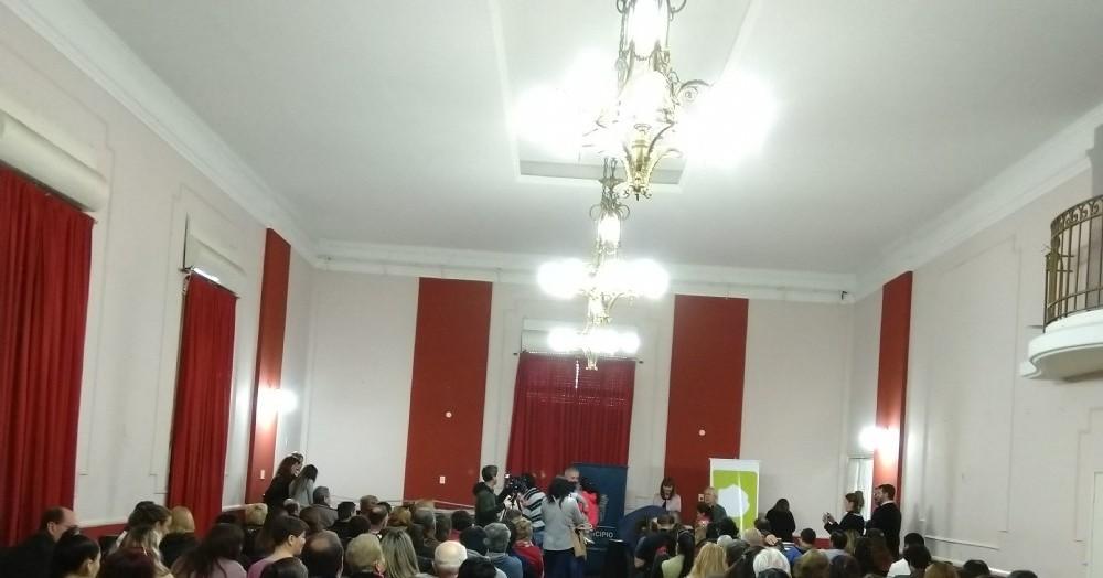 Actividad en el Centro Cultural Sabato.