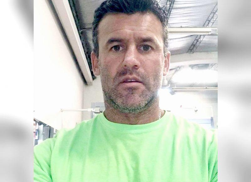 El femicida Adrián Cipolla.