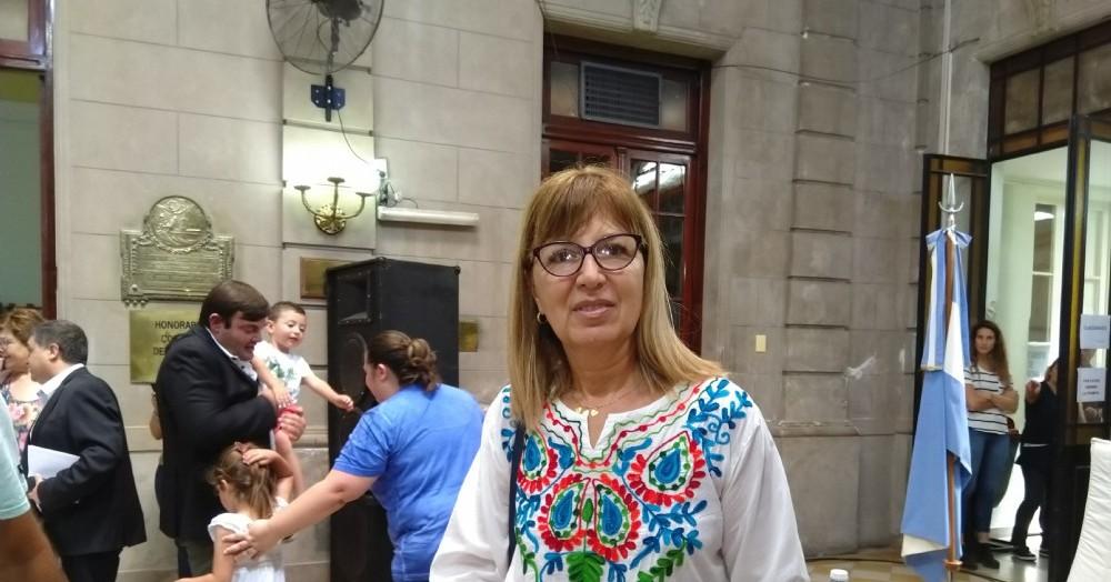 La concejal mandato cumplido Sonia Vega.